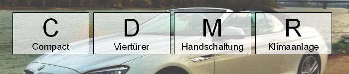 cdmr mietwagen klasse