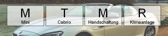 mtmr mietwagen klasse