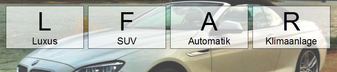 lfar mietwagen-kategorie