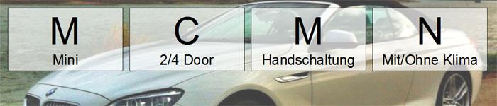 mcmn mietwagen-kategorie